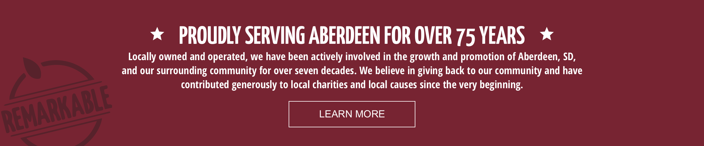 PROUDLY SERVING ABERDEEN FOR OVER 75 YEARS | Kessler's